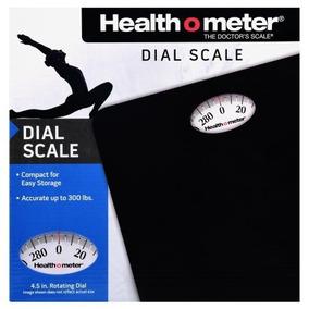 Bascula Health O Meter Con Indicador Blanco Y Negro