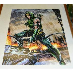 Print Dc New 52 Green Arrow / Aquaman
