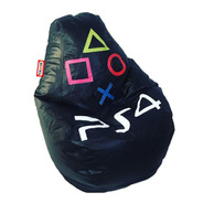 Sillon Puff Pera Play Station Ps4 Soporta Hasta 80 Kilos