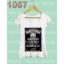 Blusa Feminina Agronomia Estampa Jack Daniels Whiski