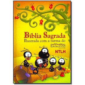 Bíblia Sagrada Ilustrada Smilinguido Capa Dura