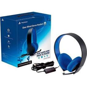 Headset Sony Silver 7.1 Stereo Ps4/ps3/pc/vita Frete Gratis