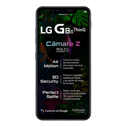 LG G8S ThinQ 128 GB Aurora black 6 GB RAM