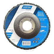 Disco Desbaste Strip Disc 115mm Limpeza Remoção Norton Novo