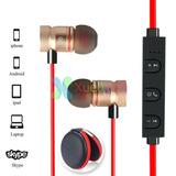 -xu56 Magnético Bluetooth Estéreo Manos Libres Auricular