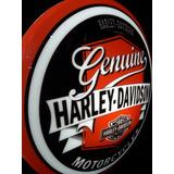 Luminoso Decorativo Marcas Moto Harley Retro Bar Garagem