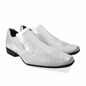 Sapato Social Masculino Com Glitter Super Barato