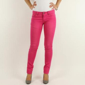 Jeans Slim Fit- Lec Lee -fucsia