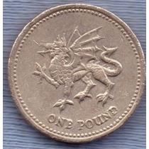 Inglaterra 1 Pound 2000 * Dragon Gales *