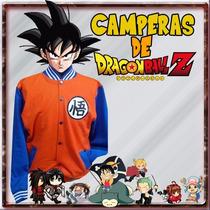 Campera De Dragon Ball Z Universitarias