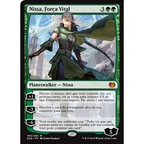 Nissa, Força Vital / Nissa, Vital Force - Kaladesh (mtg)