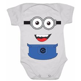 Body Infantil Bebê Minions Malvado Favorito Entrega Rápida !