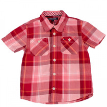 Camisa Xadrez Infantil Bebê Menino Tommy Hilfiger