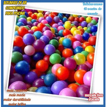 *bolinhas P/ Piscina De Bolinhas Macia Resistente Kit C/100