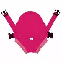 Canguru Click Pink - Suporta Até 15 Kg - Bebê Passeio