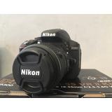 Nikon D5300 + 18-55 Vr Ii + 3 Baterías + Caja Y Manuales