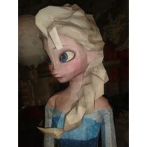 Elsa Ana Olaf De Frozen Tamaño 100 Cm Piñata Detallada