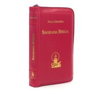 Sagrada Biblia Nácar Colunga Bolsillo Cremallera
