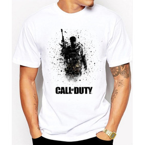 Call Of Duty Playeras Manga Corta Modelos Nuevos