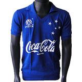 Camisa Retrô Cruzeiro 1990 Coca Cola Blusa Camiseta 11da29917b62e