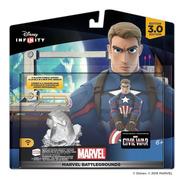 Disney Infinity 3.0 Marvel Battlegrounds Play Set Capitão