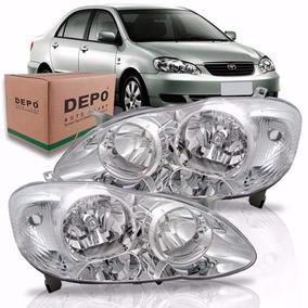 Par Farol Corolla 2002 2003 2004 Toyota Marca Depo