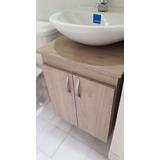 Mueble Baño Para Lavamanos Convencional Con Espejo, Armado