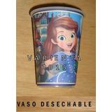 Princesita Sofia= Kit 20 Vasos Plastico Desechable