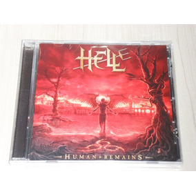 Cd Hell - Human Remains 2011 (alemão, Lacrado) Andy Sneap