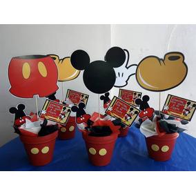 Centros De Mesas Mickey Mouse