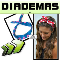 Diademas Alambre Moda Pin Up Japonesa Originales Fashion Ofp