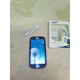 Samsung Galaxy S3 Grande ..con Cargador Nuevo,auriculars Etc