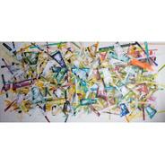 Cuadro Abstracto Cazart Pintado A Mano Sobre Lienzo