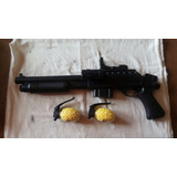 Pistola Rifle Airsoft Juguete 240fps Resorte Con Linterna