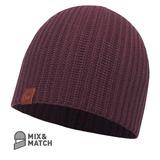 Gorro Lana Merino Knitted Haan Blackberry Hat