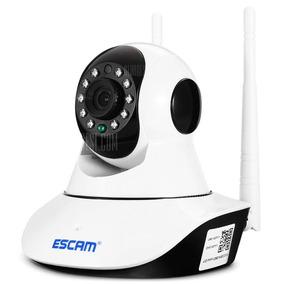 Câmera Ip 720p Hd Wifi Ip Cam - Escam Original Promoção