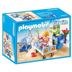 6660 Playmobil - Quarto De Maternidade Com Bebê