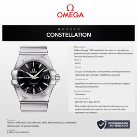 Reloj Omega 12310356001001 Constellation 35mm Bauer