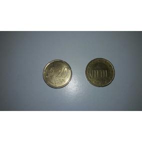 Moeda 20 Centavos De Euro Alemanha