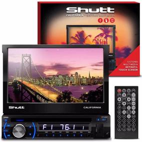 Dvd Shutt Califórnia 7 Pol Radio Usb Sd Aux Mp4 Ent/ Câmera