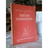 Revista Española De Derecho Internacional 1971/envios