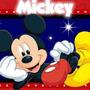 Invitaciones Mickey Mouse Personalizables Cumpleaños Fiesta