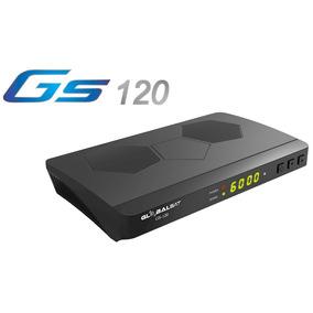 Kit Globalsat Gs120 H265, Acm Wifi Satelital Fta+lnb+soporte
