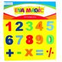 Numeros Goma Eva Calculadora Aprender Suma Resta Eva Magic
