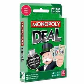 Jogo De Cartas Monopoly Deal Baralho Copag