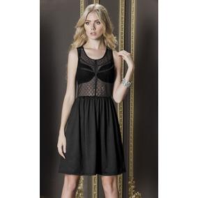 _ _oferta Elegante Vestido Andrea Encaje Tipo Red 1251036