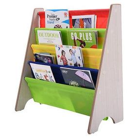 Niños Libro Plataforma Honda Almacenaje Rack Organizador