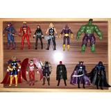 Figuras Marvel Universe (iron Man, Capitan America, Thor)