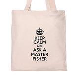 Mantener La Calma Y Pedir Un Bolso De Mano Master Fisher