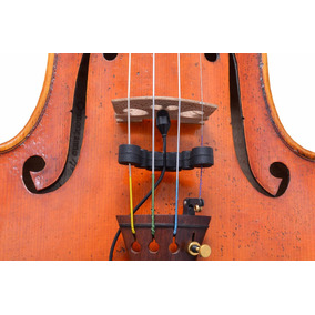 Microfone Profissional P/ Violino Viola Melhor Que Captador
